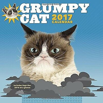 2017 Wall Cal: Grumpy Cat New
