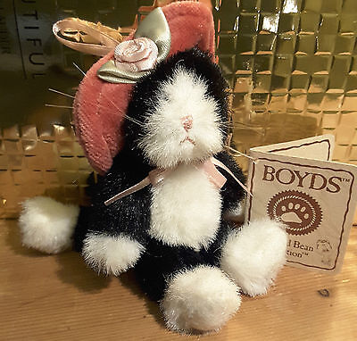 'Kittie' Boyds Miniature Bear from the Head Bean Collection
