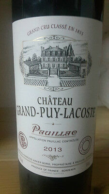 2013 Chateau Grand-Puy-Lacoste, Pauillac, France