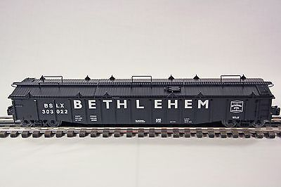 Lionel 81892 Bethlehem Steel 52' Gondola w/3 Piece Covers - C10/Mint/NIB