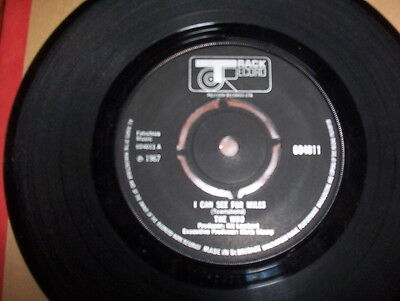 """The Who """"I Can See For Miles bw Someone's Coming"""" excellent Track 604011"""