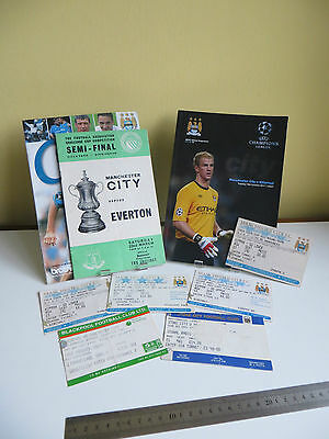 Manchester City Joblot Programmes and Used Tickets Most items are Vintage