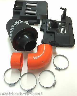 Focus ST225 RAMAIR / SFS Group A Cone Air filter Kit - Orange