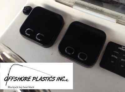 """Gauge Cover for Yamaha Command Link """"Square Style"""" Gauge (BLACK)"""