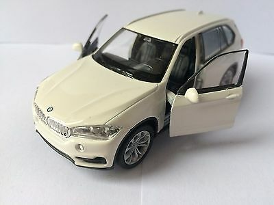 BMW X5 4x4 WELLY Diecast metal car collection toy model 1:38 scale