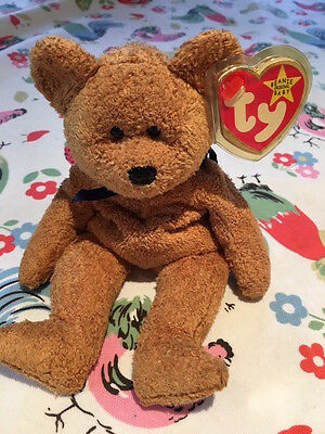 TY Beanie Babies - Fuzz - Very rare with tag errors