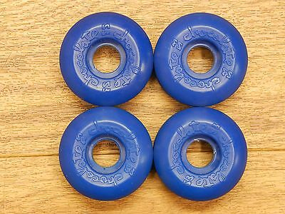 CHOCOLATE - BLUE  X 4 SKATEBOARD WHEELS 53mm Brand New