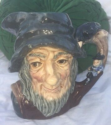 """Royal Doulton Rip Van Winkle  Character Toby Mug D6438 7"""" Excellent Condition"""