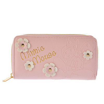 Disney Store JAPAN Minnie Sweet Harmony Wallet with Gift Bag NEW