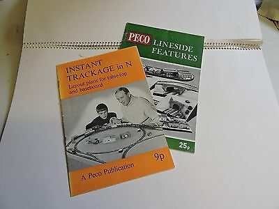 Two Peco N Gauge Leaflets