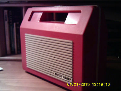 Vintage MUSIC MAKER. portable record player (untested)