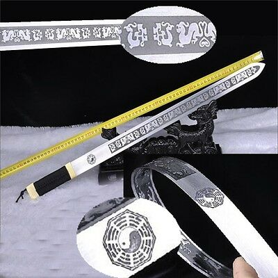 Martial arts training Trigrams Tai-chi Soft sword Tai Ji Jian Spring steel #3945