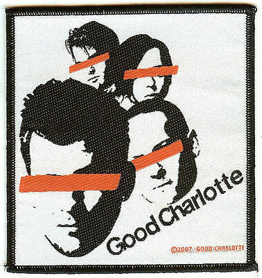 Good Charlotte Sew On Patch Faces Logo