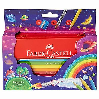 Faber-Castell Classic Colour Zip Closure Tin