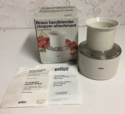 Braun Handheld Blender Chopper Container Blade Replacement Part for MR 7/72 Only