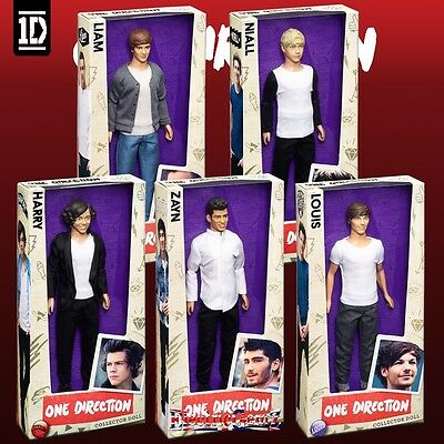4X One Direction 1D - Collector Dolls / HARRY, ZAIN, NIALL & LIAM