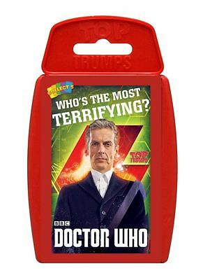 Top Trumps Doctor Who 8 Card Game
