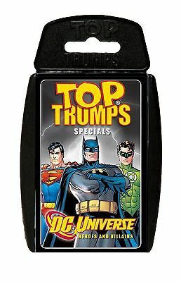 Top Trumps - DC Universe: Heroes & Villains Card Game