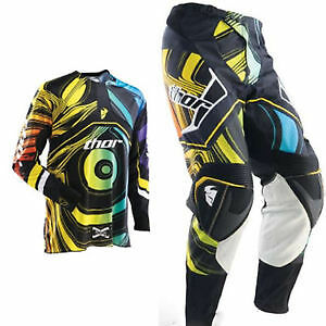 Thor S12 Flux Ripple Jersey & Pant Combo L / 32