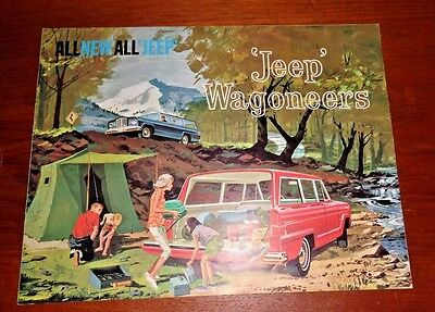 Sale Brochure 1963 Jeep Wagoneers - ALL NEW ALL 'JEEP' Advertisement