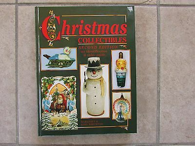 Christmas Collectibles Second Edition Identification & Price Guide Book Santas