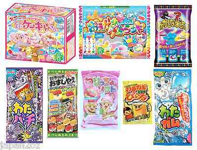 8 PIECE DIY JAPANESE CANDY SET Popin Cookin Meiji Gummy Syrup Cotton Gum #2