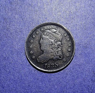 1835 Capped Bust Half Dime VG