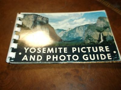 Vintage 1955 Yosemite Picture And Photo Guide Book