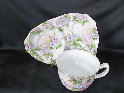 NANTUCKET HOME Porcelain Tea Cup and Snack Saucer