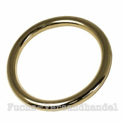 o-Rings BRASS 13,16,20,25,32,39,51mm Round ring O-Ring rings Metal ring mm