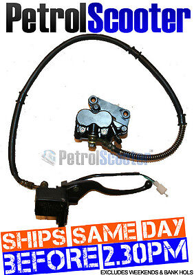 Baotian 50cc  QT7 125cc T2 FRONT HYDRAULIC BRAKE Kit Complete Ready To Use