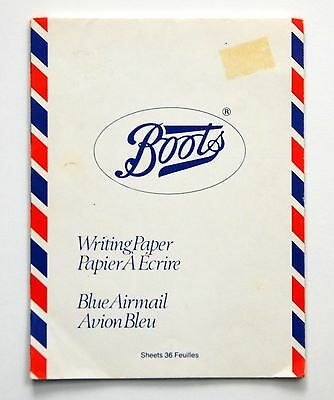 Vintage AIR MAIL Writing Paper/23 sheets to fit #2 envelopes