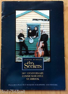 The Seekers 30th Anniversary Commemorative Yearbook Judith Durham Scrapbook