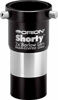 Orion 08711 Shorty 1.25-Inch 2x Barlow Lens (Black) New