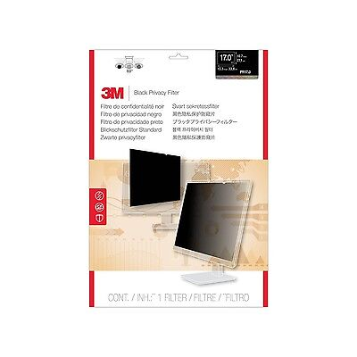 3M Privacy Filter for Desktop LCD Monitors 17 Inch (PF17.0) New