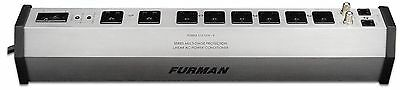 Furman PST-8 SMP EVS LiFT 15-Amp Aluminum Chassis 8-Outlet Cable and Telc... New
