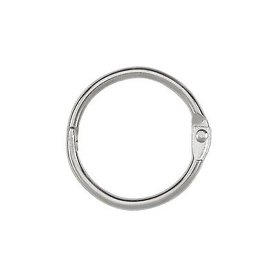 ACCO Loose Leaf Binder Rings 1 Inch Capacity Silver 100/Box (72202) New