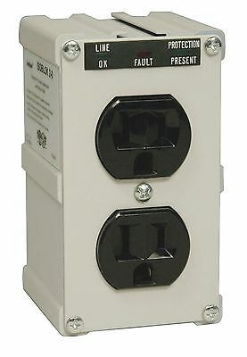 Tripp Lite ISOBLOK2-0 Isobar Surge Protector Wallmount Direct Plug in 2 O... New