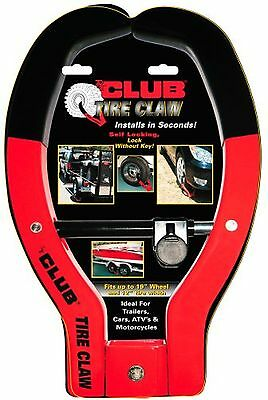 """Winner The Club No.491 Tire Claw Security Device 12"""" Tire Width New"""