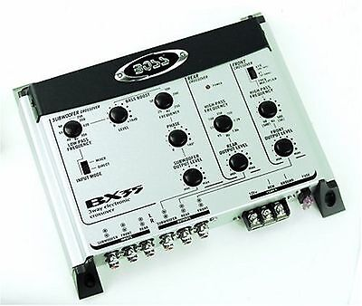 BOSS BX35 3-Way Electronic Crossover/ Subwoofer Input and Output New