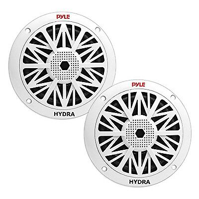 Pyle PLMR52 150W 5.25-Inch 2 Way Marine Speakers White New