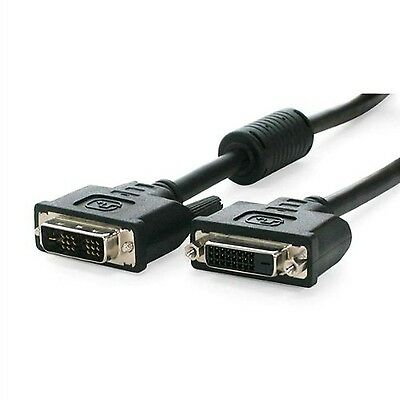 StarTech.com DVIDSMF15 15-Feet DVI-D Single Link Monitor Extension Cable ... New