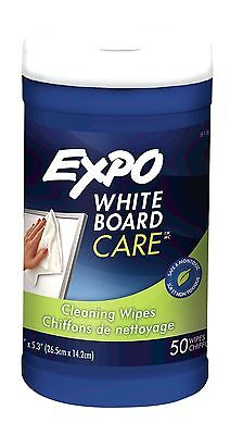 EXPO Cleaner Whiteboard Cleaning Wipes for Dry Erase Boards in Pop-Up Dis... New