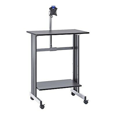 Buddy Products Stand Up Height Workstation with LCD Mount 20 x 56 x 29-In... New