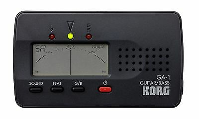 Korg Guitar and Bass Tuner New