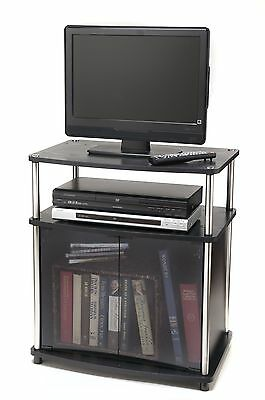 Convenience Concepts 151056 TV Stand with Cabinet for Flat Panel TV's Up ... New