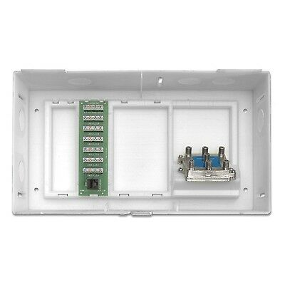 Leviton 47604-F6S Multi Dwelling Unit MDU Kit Plus 1 X 6 Telephone Expans... New