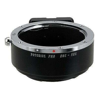 Fotodiox Pro Lens Mount Adapter Canon EOS Lens to Sony Alpha Nex Camera A... New