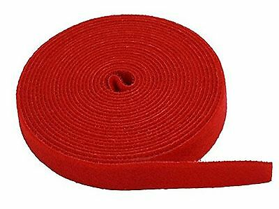 Monoprice 105831 0.75-Inch One Wrap Hook and Loop Fastening Tape 5 Yard/R... New