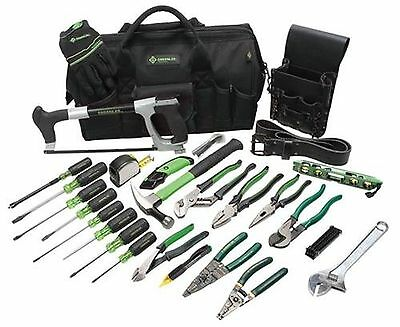 Greenlee 0159-11 Master Electrician's Tool Kit New
